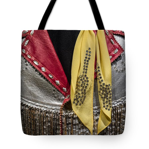 Tote Bag featuring the photograph Jacket And Scarf by Glenn DiPaola