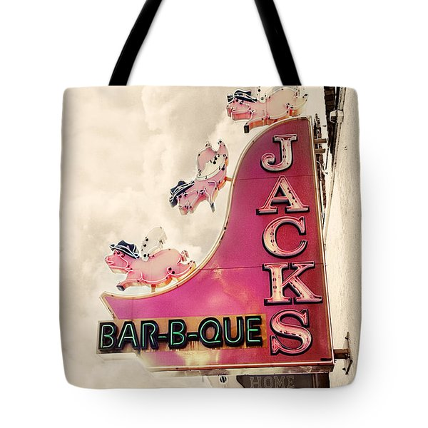 Jacks Bbq Tote Bag