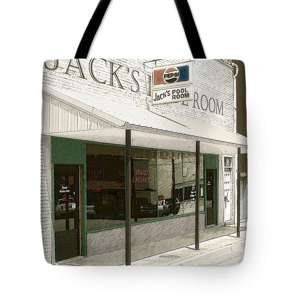 Jack's Pool Room Tote Bag
