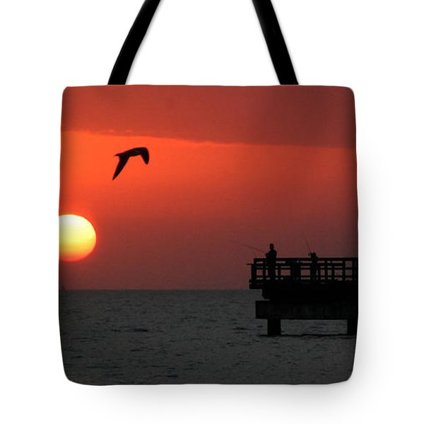 Jacks Sunrise Tote Bag by Leticia Latocki
