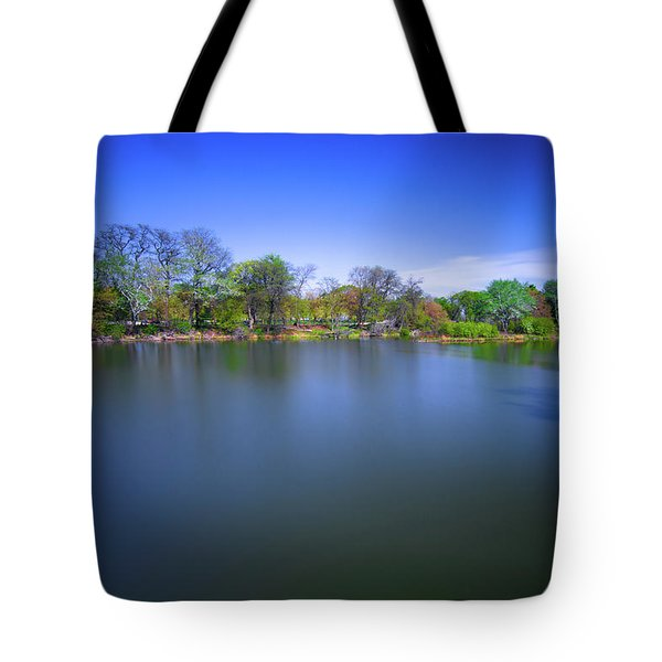 Jackson Park Tote Bag by Jonah  Anderson