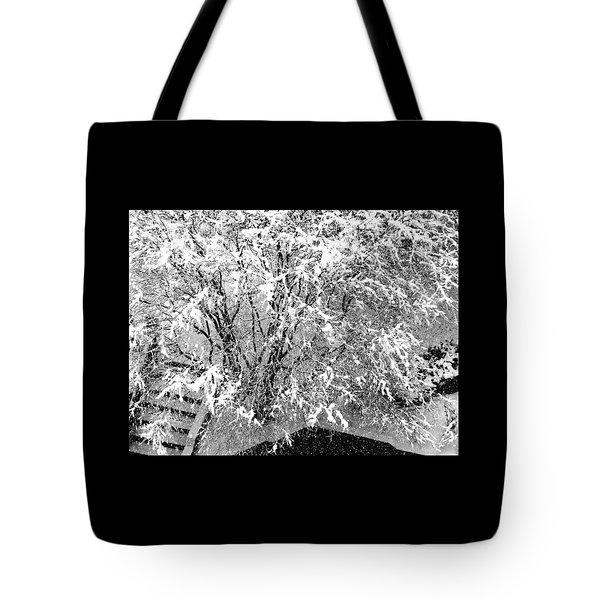 Jackson Pollock's Blizzard Tote Bag