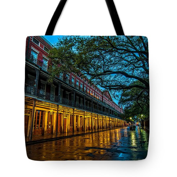 Jackson Square At Dawn Tote Bag