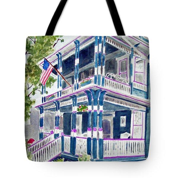 Jackson Street Inn Of Cape May Tote Bag