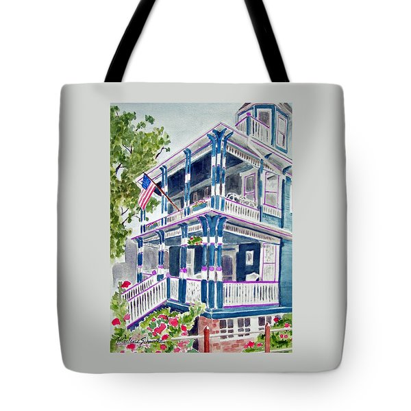 Jackson Street Inn Of Cape May Tote Bag