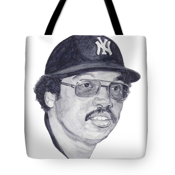 Tote Bag featuring the painting Jackson by Tamir Barkan