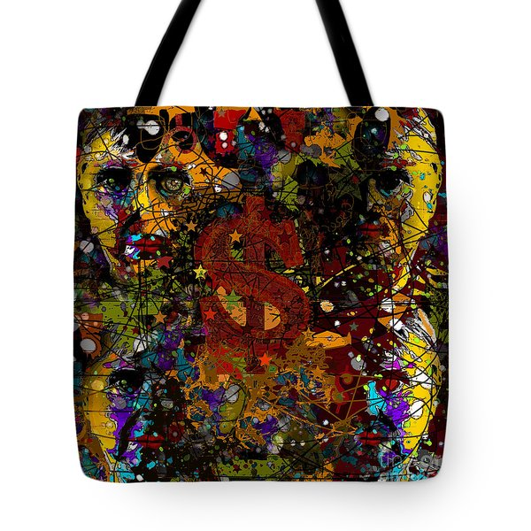 Jackson Warhol Me Tote Bag by Carol Jacobs