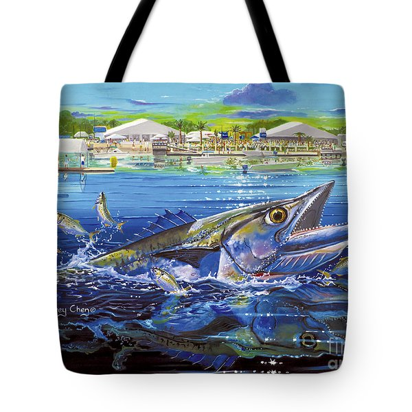 Jacksonville Kingfish Off0088 Tote Bag