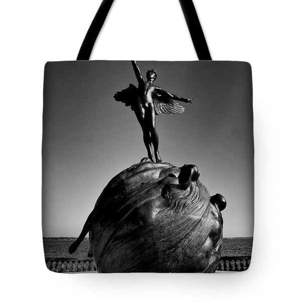 Jacksonville War Memorial Tote Bag