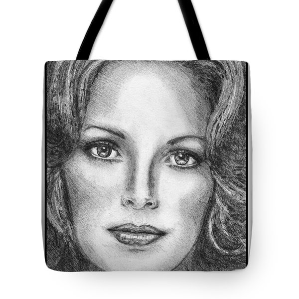 Jaclyn Smith In 1976 Tote Bag