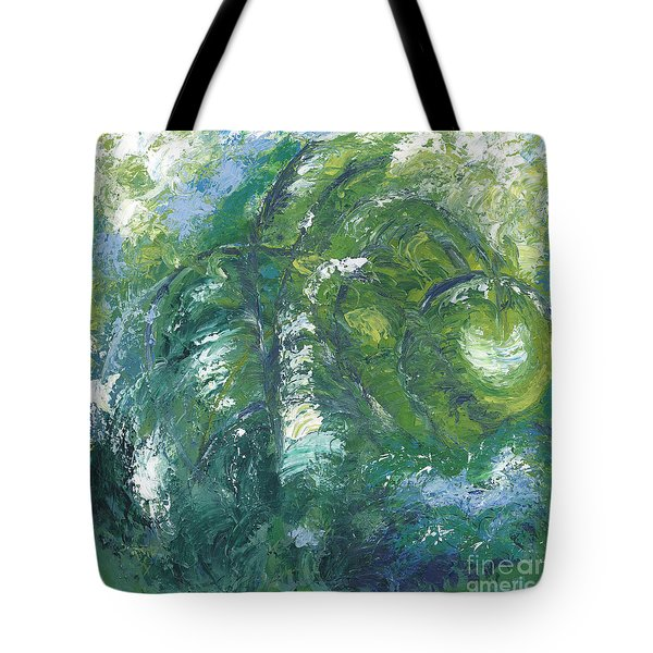Jade Is The Color Of Your Energy Tote Bag