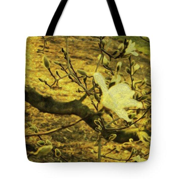 Jade Orchid Tote Bag by Sonali Gangane