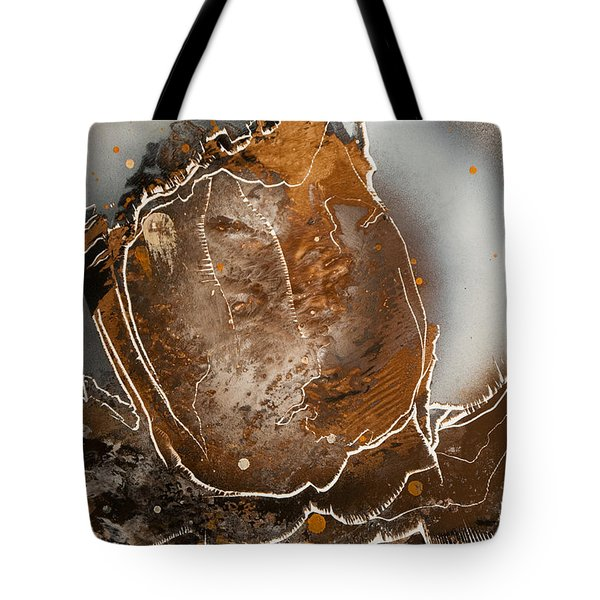 Tote Bag featuring the painting Jagged by Jason Girard