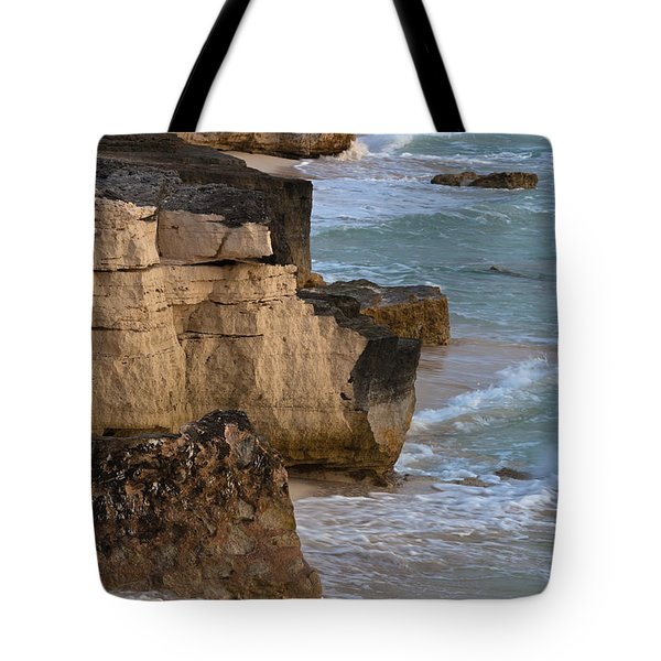 Jagged Shore Tote Bag