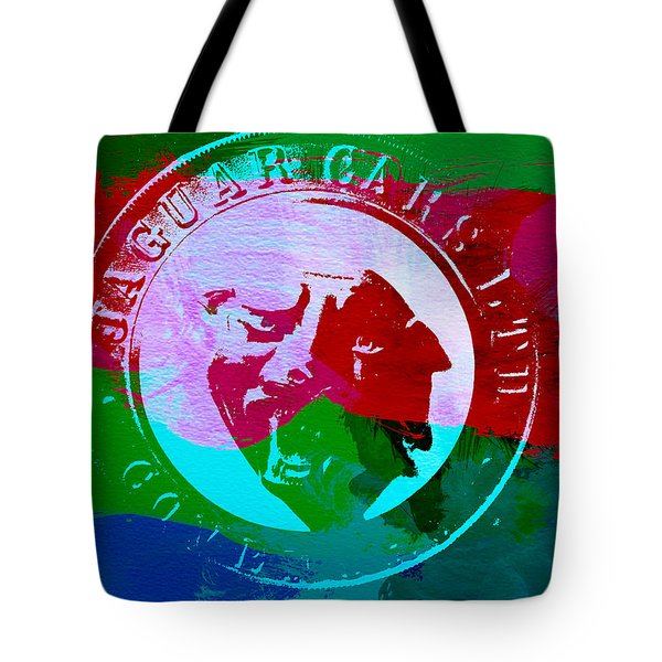 Jaguar Badge Tote Bag by Naxart Studio