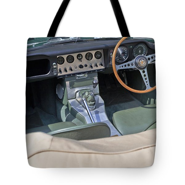 Jaguar E-type Series 1 Tote Bag