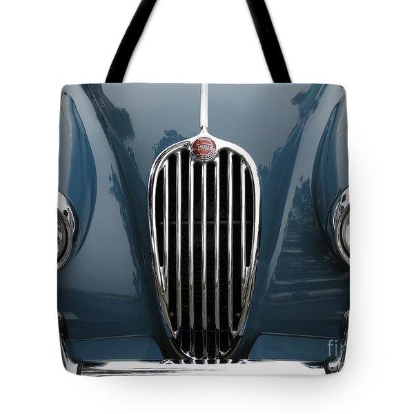 Jaguar Grille Tote Bag