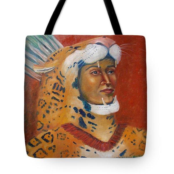 Jaguar Knight Popoca Tote Bag