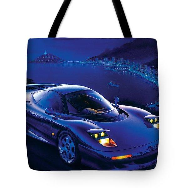 Jaguar Xjr-15 Tote Bag by Garry Walton