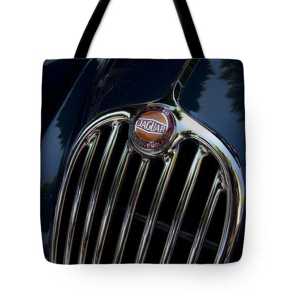 Jaguar Xk140 Tote Bag