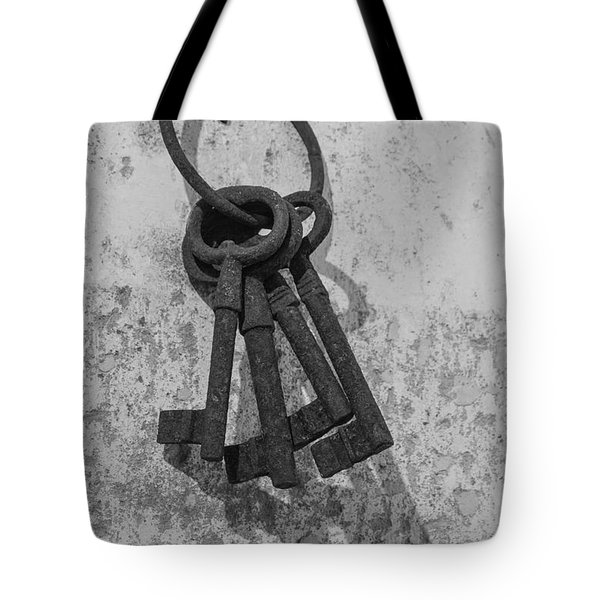 Jail House Keys Tote Bag