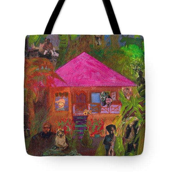 Jamaican Holiday Tote Bag by Catherine Redmayne