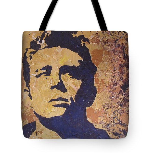 James Dean Tote Bag by David Shannon