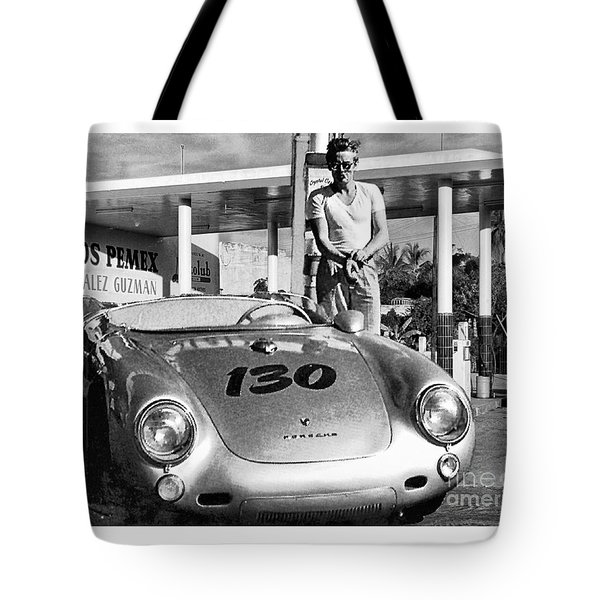 Last Picture Taken Of James Dean Tote Bag