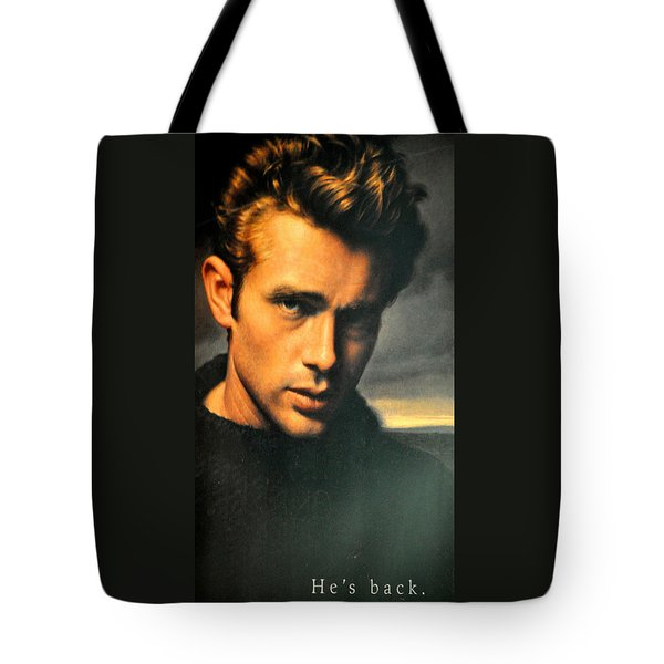 James Dean Tote Bag by Jay Milo