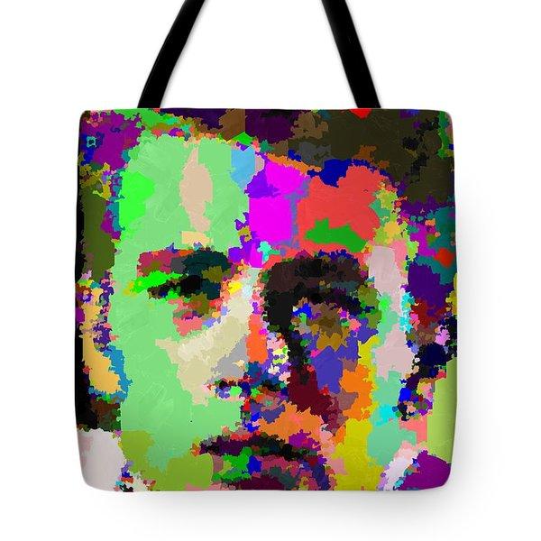 James Dean Portrait Tote Bag