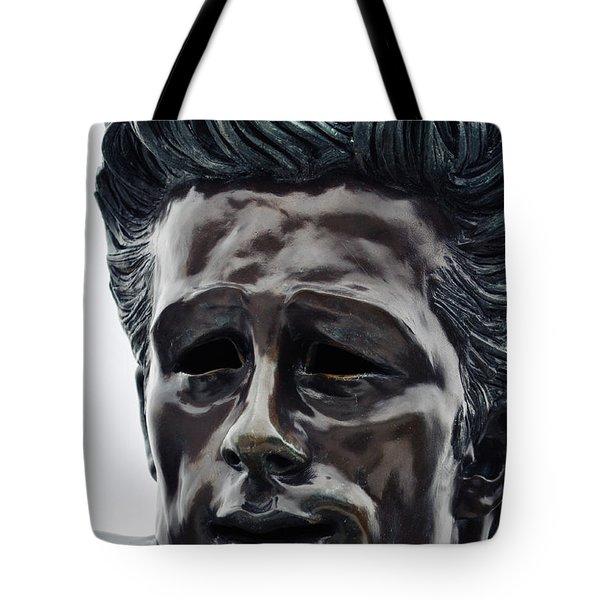 Tote Bag featuring the photograph James Dean The Rebel by Kyle Hanson