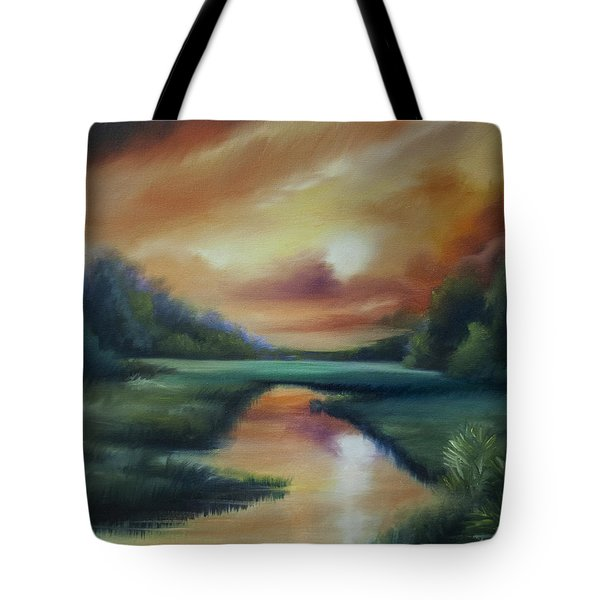 James Island Marsh Tote Bag by James Christopher Hill