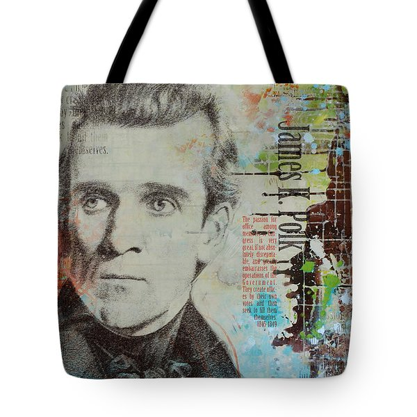 James K. Polk Tote Bag