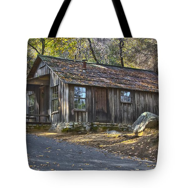 James Marshall Cabin Tote Bag