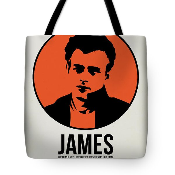 James Poster 1 Tote Bag by Naxart Studio