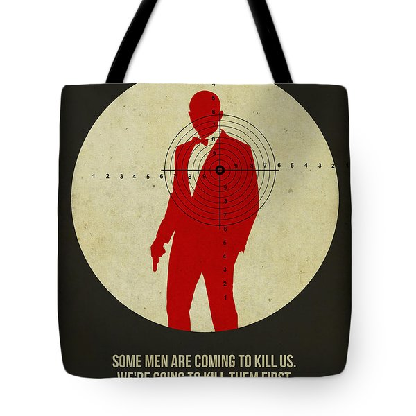 James Poster Black 3 Tote Bag