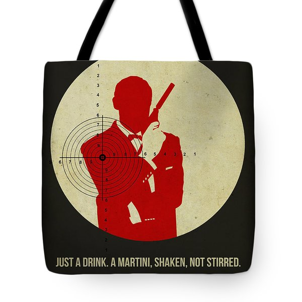 James Poster Black 4 Tote Bag