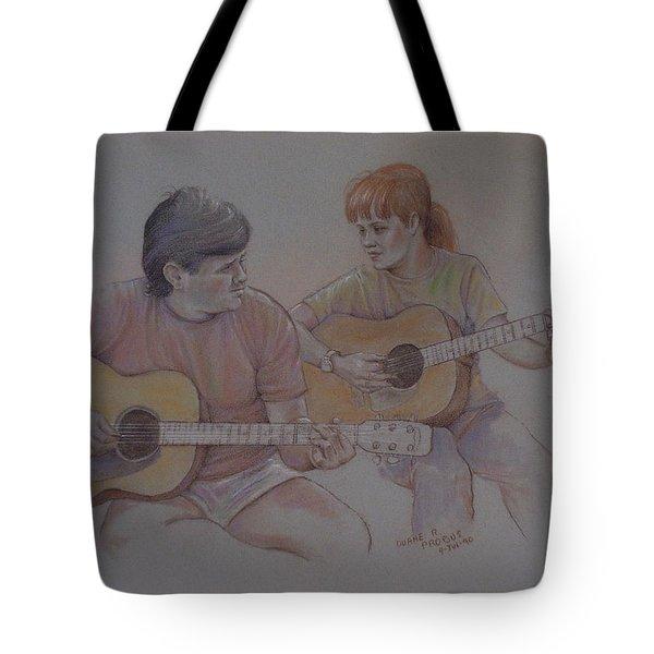 Jamin Tote Bag by Duane R Probus