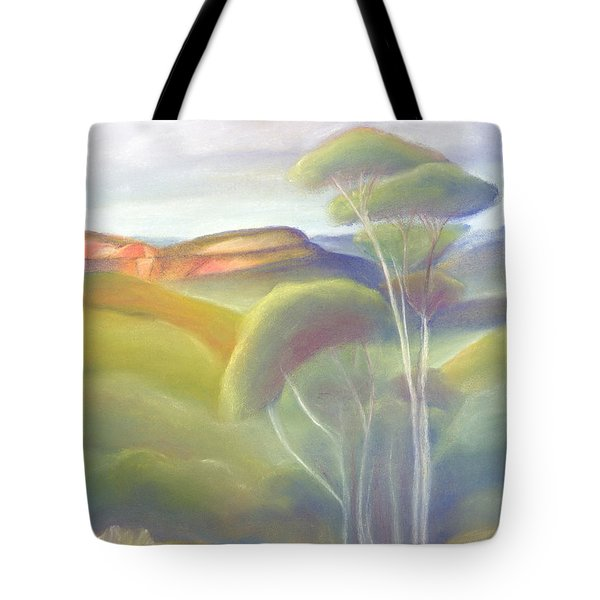 Jamison Valley Blue Mountains National Park Nsw Australia Tote Bag