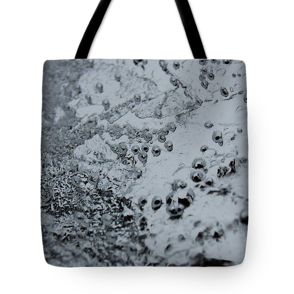 Tote Bag featuring the photograph Jammer Abstract 008 by First Star Art