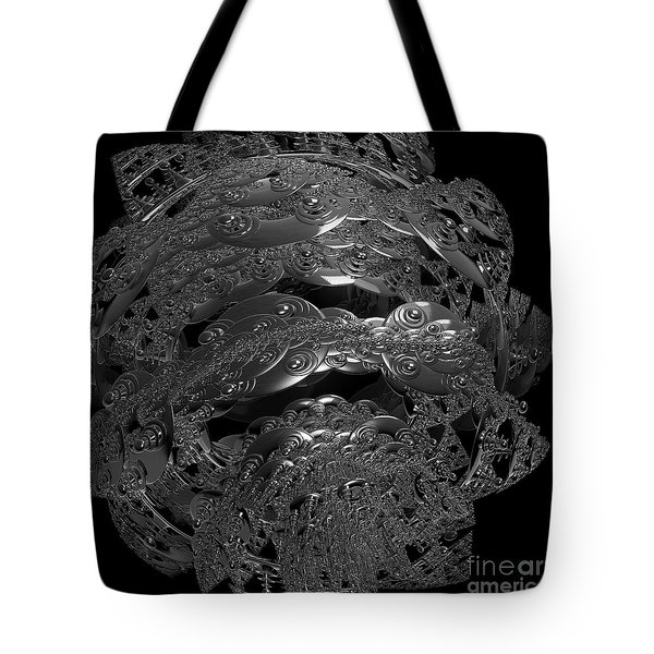 Jammer Silver City Planet Tote Bag by First Star Art