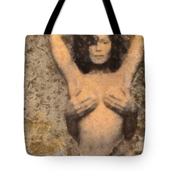 Janet Jackson - Tribute Tote Bag by Derek Gedney