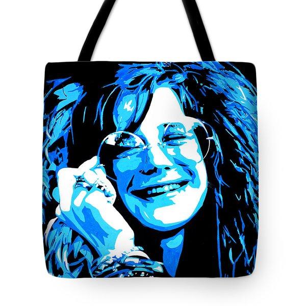 Janis Joplin. Tote Bag