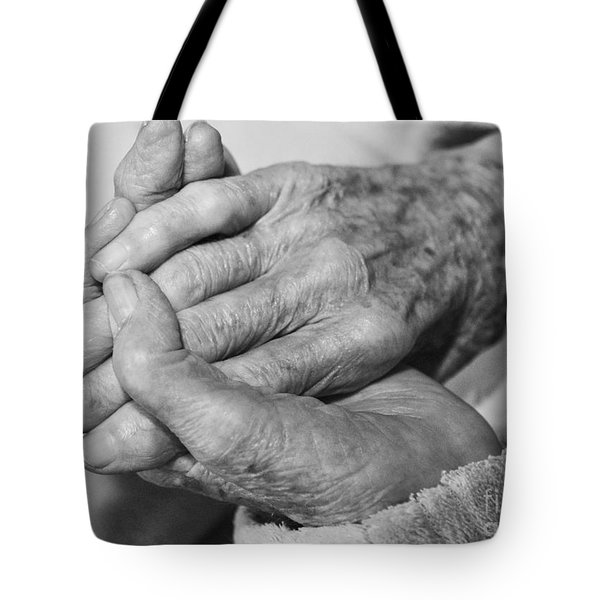 Jan's Hands Tote Bag