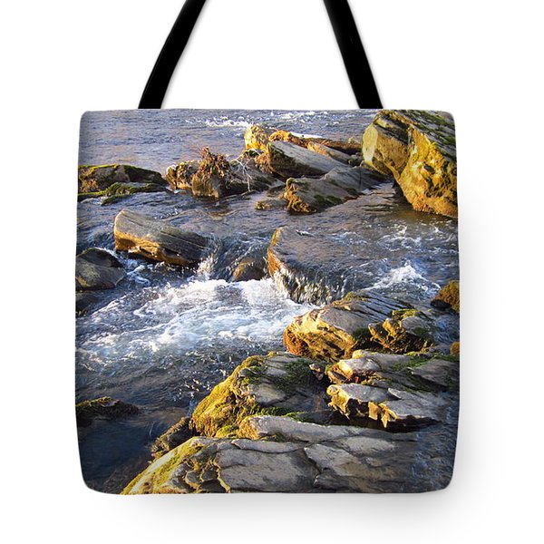 January Afternoon On The Watauga Tote Bag