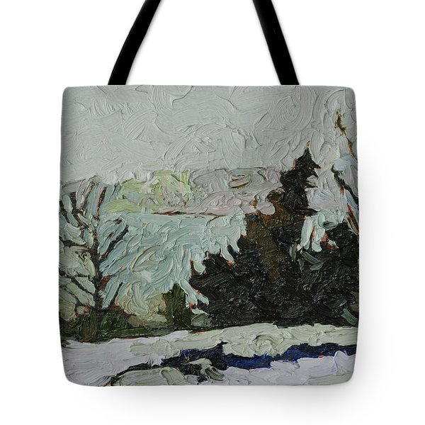 January Grays Tote Bag by Phil Chadwick