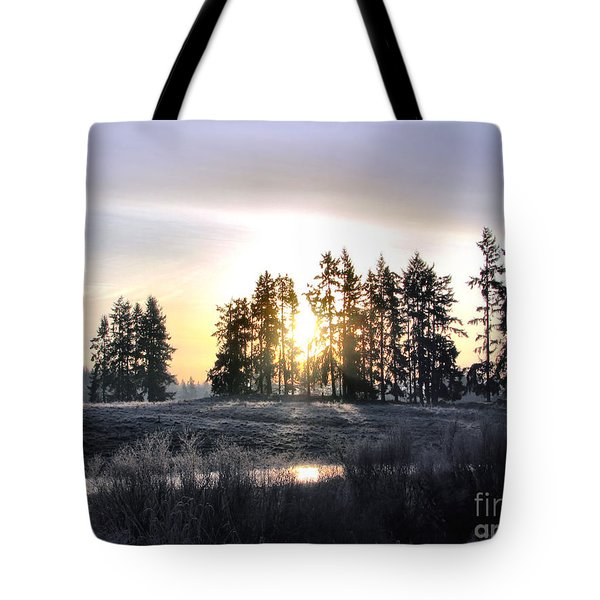 January Morning Tote Bag by Rory Sagner