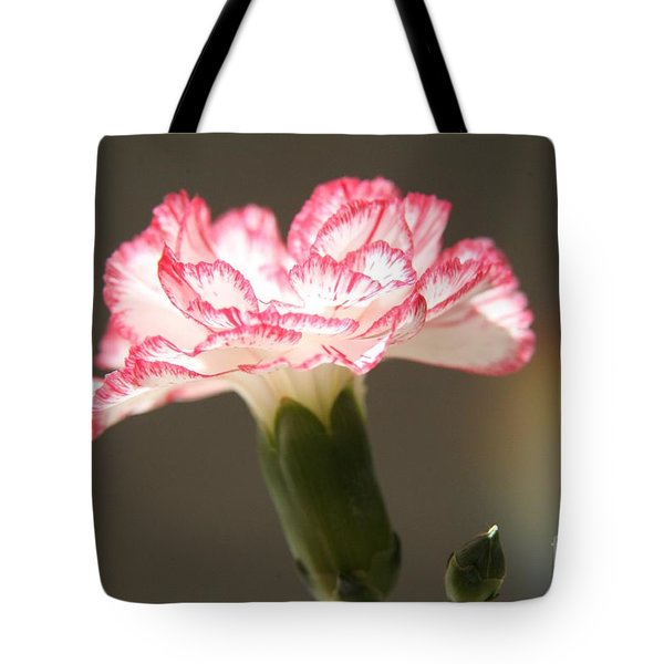 January's Flower Tote Bag