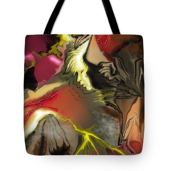 Janus Tote Bag by Francoise Dugourd-Caput