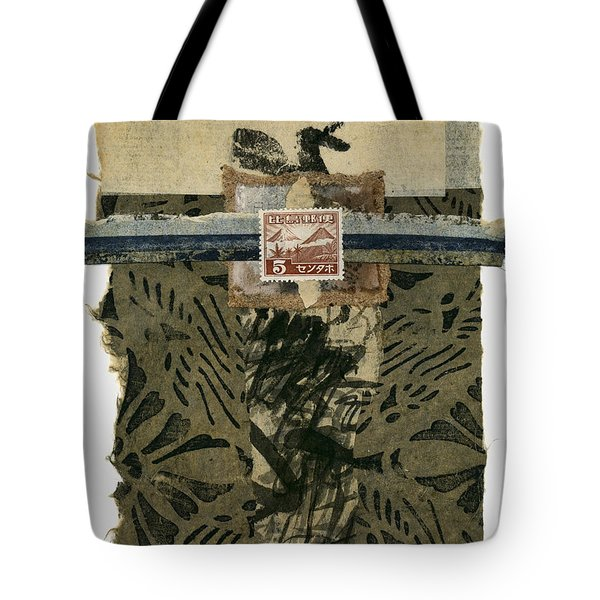 Japan 1943 Collage Tote Bag